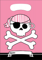 Parti Yıldızı - Korsan Partisi 8 li Kız Poşet