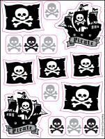 Parti Yıldızı - Korsan Partisi Sticker