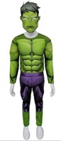 Parti Yıldızı - Kostüm Hulk Kaslı 4-6 Yaş