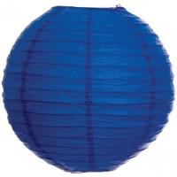 Parti Yıldızı - Koyu Mavi Büyük Boy Fener 30 cm 1 Adet