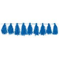 Parti Yıldızı - Koyu Mavi Püskül Garlent 3 Metre