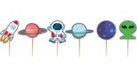 Parti Yıldızı - Kozmik Galaksi Lisanslı Kürdan 10 lu