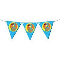 Parti Yıldızı - Kral Şakir Üçgen Bayrak Afiş