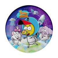 Parti Yıldızı - Kral Şakir Uzayda Tabak 8 Adet