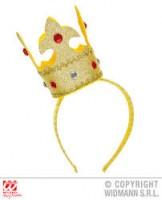 Parti Yıldızı - Kral Tacı Altın Rengi, Taşlı