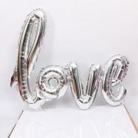 Parti Yıldızı - Love El Yazısı Gümüş
