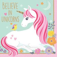 AMSCAN - Magical Unicorn Küçük Peçete
