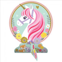 AMSCAN - Magical Unicorn Masa Orta Süsü