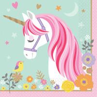 AMSCAN - Magical Unicorn Peçete