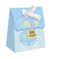 Parti Yıldızı - Mavi Bebek Ayıcık 12 li Kutu