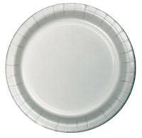 Parti Yıldızı - Gümüş Renk Tabak 23 cm