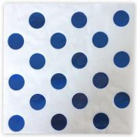 Parti Yıldızı - Metalik Mavi Puanlı Peçete