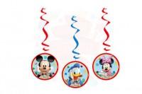 Parti Yıldızı - Mickey Clubhouse 3 lü Asma Süs