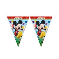 Parti Yıldızı - Mickey Playful Bayrak Afiş