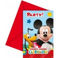 Parti Yıldızı - Mickey Playful Davetiye