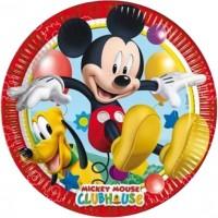 Parti Yıldızı - Mickey Playful Tabak
