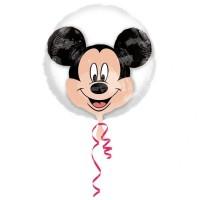 Parti Yıldızı - SShape Balon İçinde Mickey Mouse Balon 60x60cm
