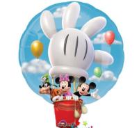 Parti Yıldızı - Mickey Super Shape - Sıcak Hava Balonu Şeklinde