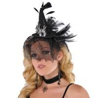 AMSCAN - Mini Cadı Şapkalı Taç