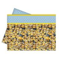 Parti Yıldızı - Minions Masa Örtüsü 120x180 cm