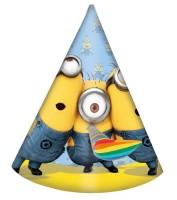 Parti Yıldızı - Minions Şapka 6lı