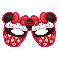 Parti Yıldızı - Minnie Cafe Maske 6 Adet