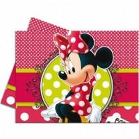 Parti Yıldızı - Minnie Fashion Hediye Paketli Masa Örtüsü