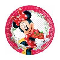 Parti Yıldızı - Minnie Meyve Reçeli Tabak