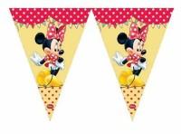 Parti Yıldızı - Minnie Mouse Cafe Bayrak Afiş