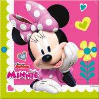 Parti Yıldızı - Minnie Mouse Junior 20 li Kağıt Peçete