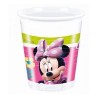 Parti Yıldızı - Minnie Mouse Junior 8 li Plastik Bardak