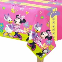 Parti Yıldızı - Minnie Mouse Junior Plastik Masa Örtüsü