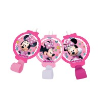 Parti Yıldızı - Minnie Mouse Pembe 6 lı Kaynanadili
