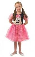Parti Yıldızı - Minnie Mouse Pembe Puanlı Kostüm