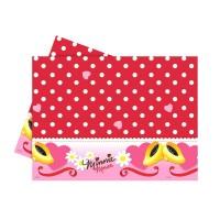 Parti Yıldızı - Minnie Mouse Puanlı Masa Örtüsü