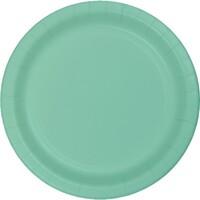 Parti Yıldızı - Mint Yeşili 8 li Tabak