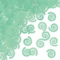 Parti Yıldızı - Mint Yeşili Masa Üzeri Dekor Konfeti