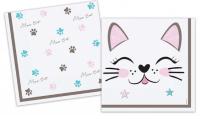 PD - Miss Cat Kağıt Peçete 33x33cm 16 Adet