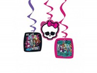 Parti Yıldızı - Monster High 3 lü Asma Süs