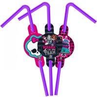 Parti Yıldızı - Monster High 6 lı Pipet