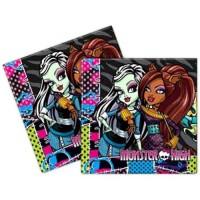 Parti Yıldızı - Monster High Peçete