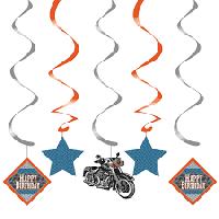 Parti Yıldızı - Motosiklet Partisi Süs Dalgası 5 Adet