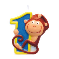 AMSCAN - Mum Safari 1 Rakamı