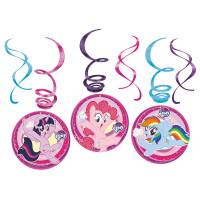 AMSCAN - My Little Pony Dalgalı Süs 6 Adet