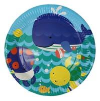 Parti Yıldızı - Neşeli Balina Mavi Tabak