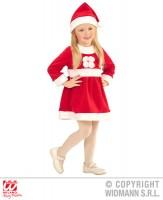 Parti Yıldızı - Noel Anne Bebek Elbisesi 3-4 Yaş / 110 cm