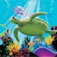 PD - Okyanus Partisi 16 lı Küçük Peçete