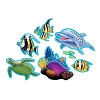 Parti Yıldızı - Okyanus Partisi 7 li Duvar Süsü