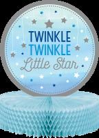 Parti Yıldızı - One Little Star Mavi Masa Orta Süsü