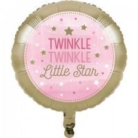 Parti Yıldızı - One Little Star PembeFolyo Balon
